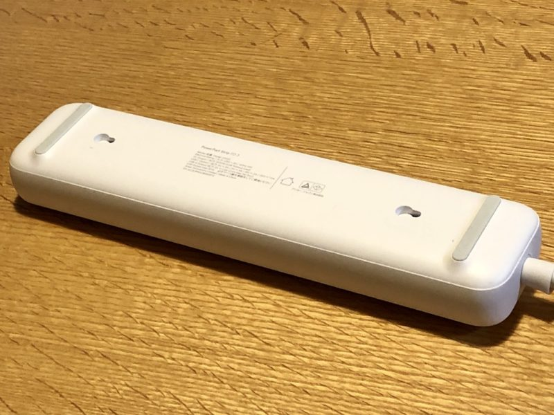 Anker PowerPort Strip PD 3の背面は滑り止めあり