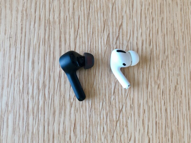 Anker Soundcore Liberty Air 2とAirPods Proの比較